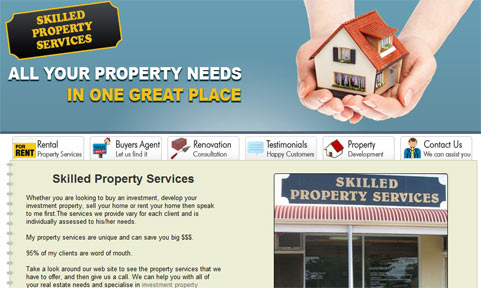 Skilled Property Services Web Design Launch