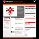 Windsor Calisthenics web design